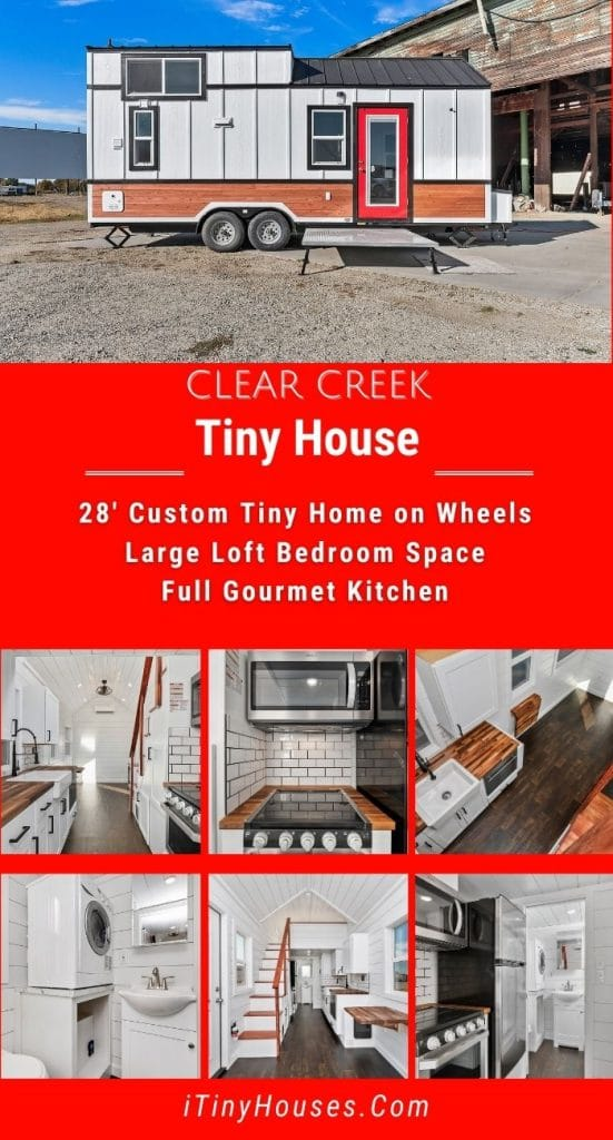 Clear creek tiny home collage