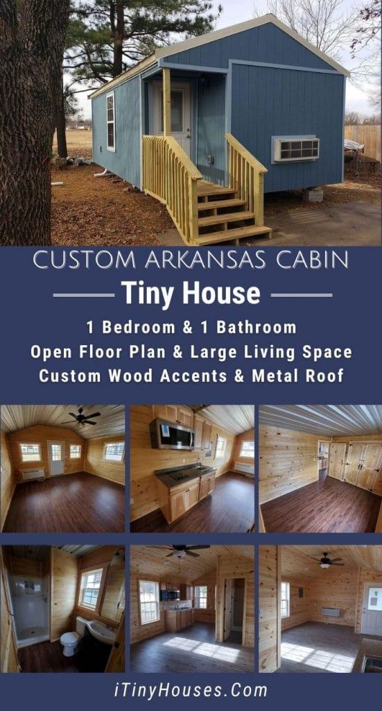 Custom Arkansas cabin collage