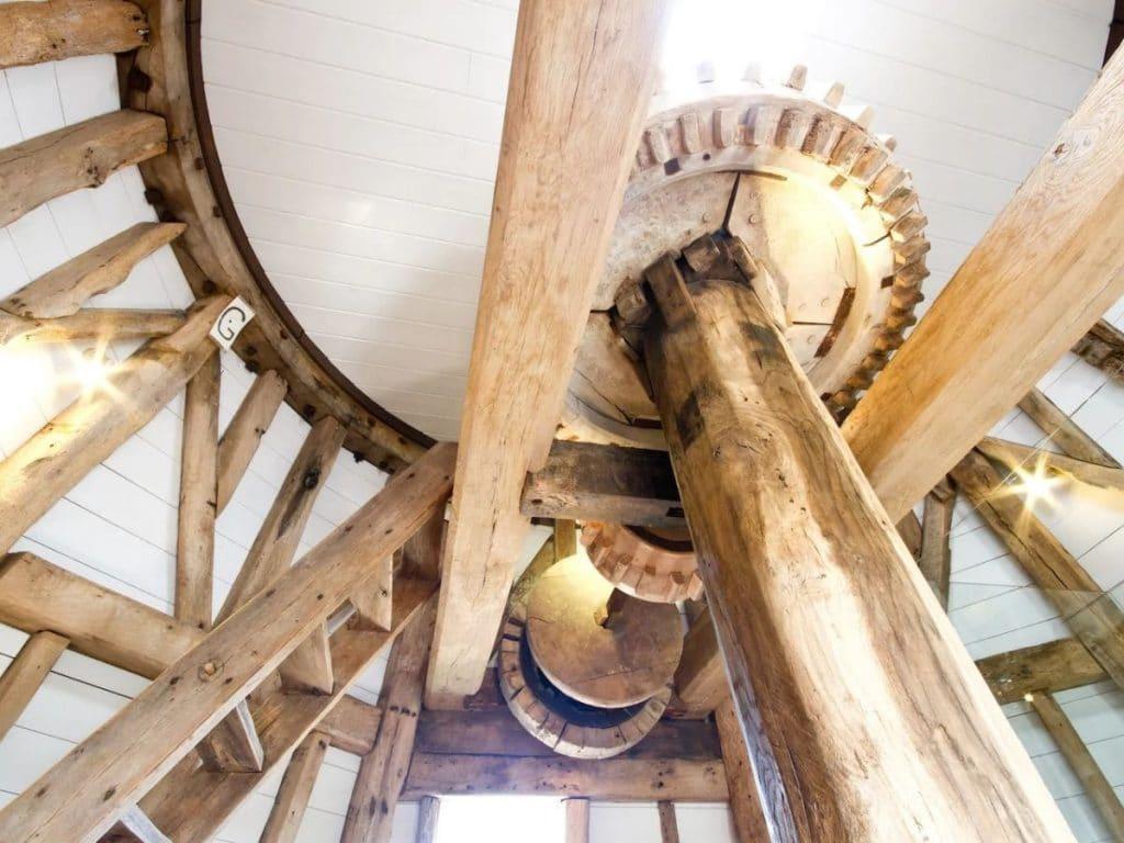 Windmill tiny home decor