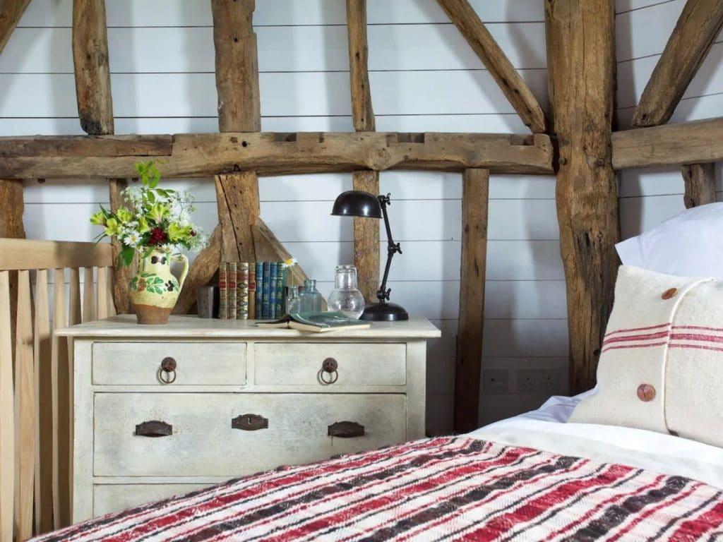 Tiny windmill bedroom