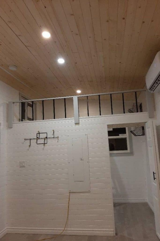 Loft in tiny house