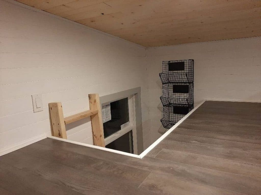 Tiny new brunswick house loft