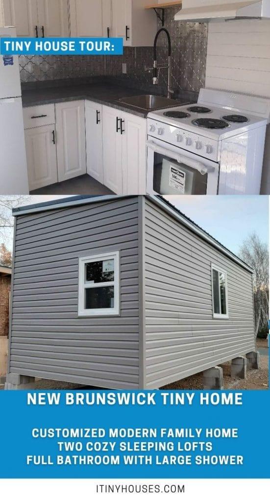 New Brunswick tiny house collage