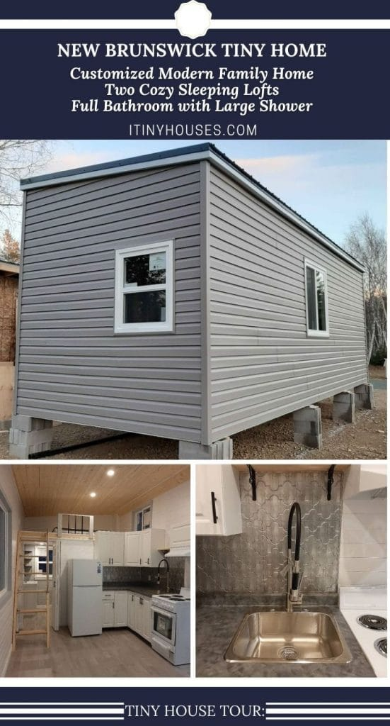 New Brunswick tiny house collage
