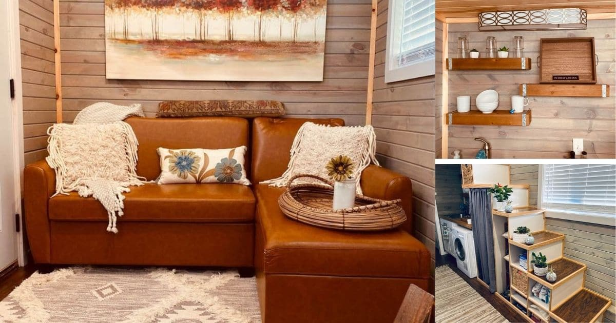Luxury and Style Describe this New Mexico Tiny Home