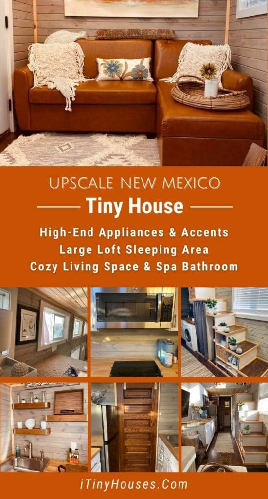 New Mexico tiny home collage