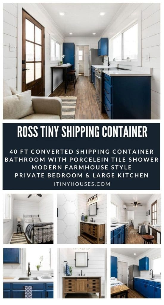 Ross tiny shipping container collage
