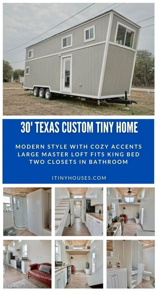 Texas Tiny House Collage