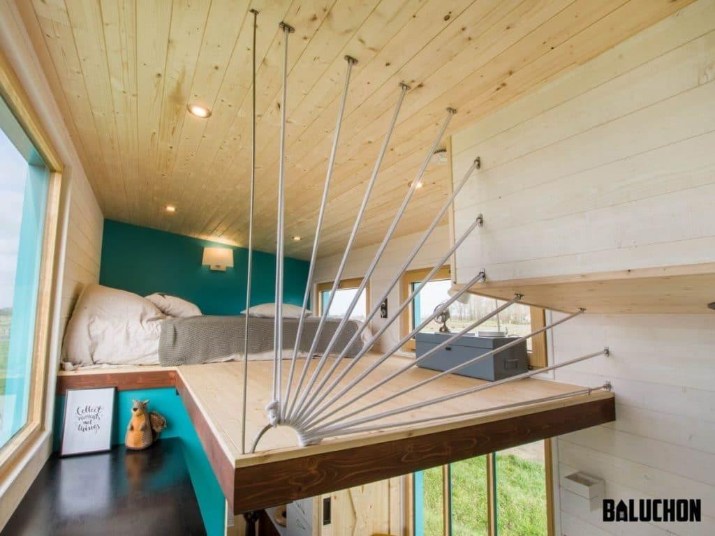 Tiny home loft