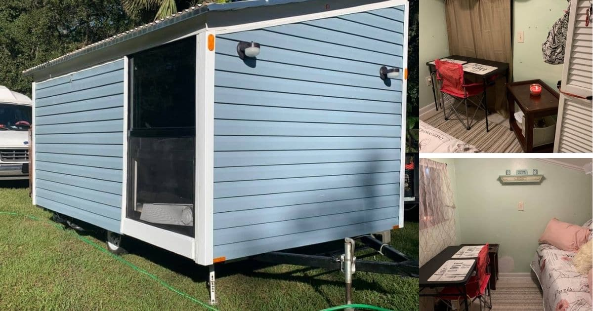 This 18′ One Room Tiny House is a Steal at Only $7000