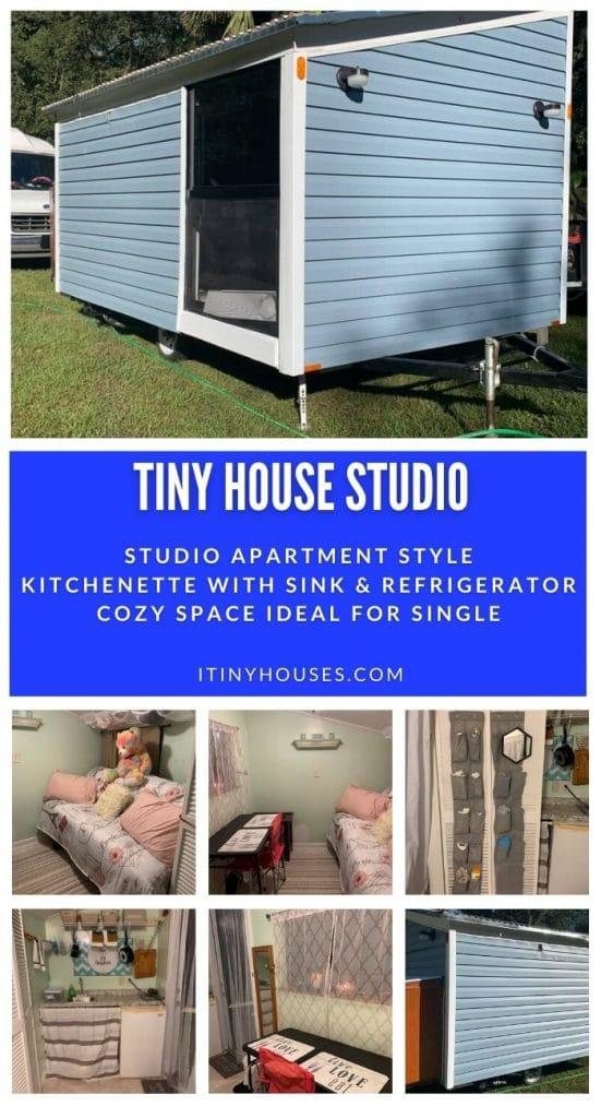 Tiny studio collage