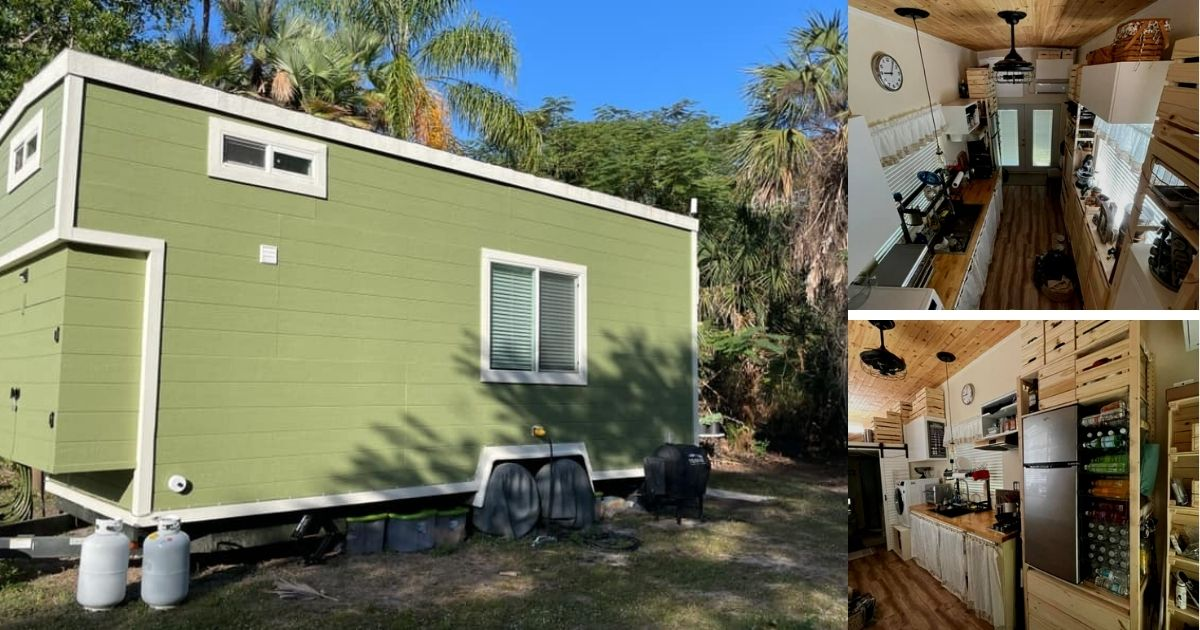 24' Florida Tiny Home with IKEA Customizations for Sale