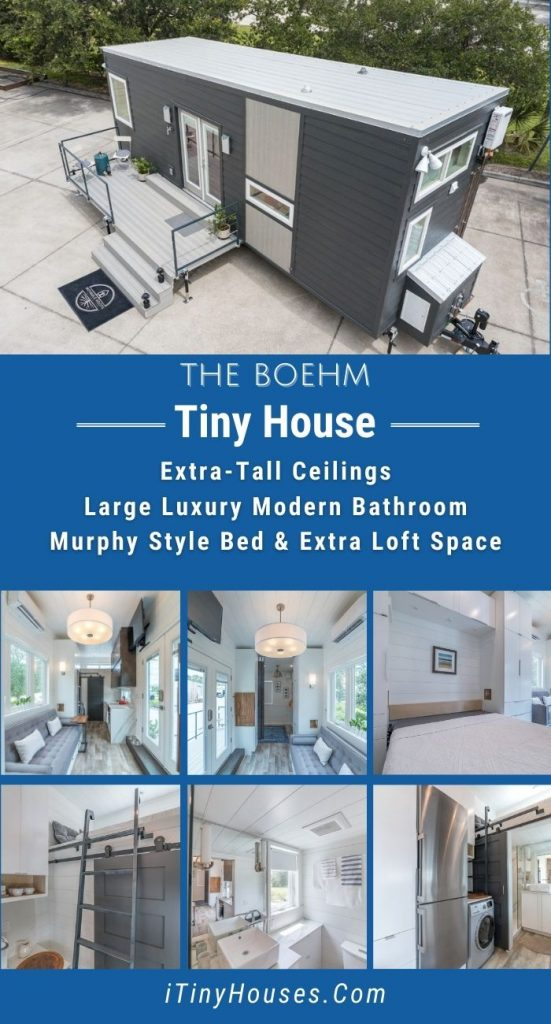 The Boehm tiny house collage image