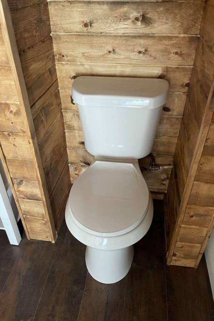Tiny house toilet