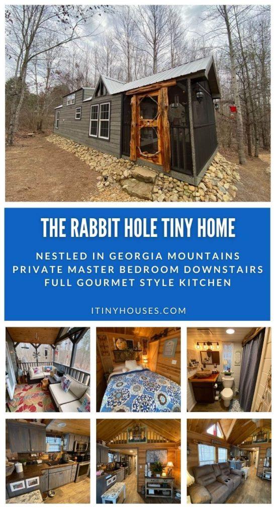 Tiny house rabbit hole collage