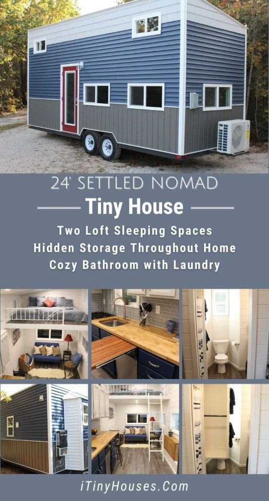 Settled nomad tiny house collage