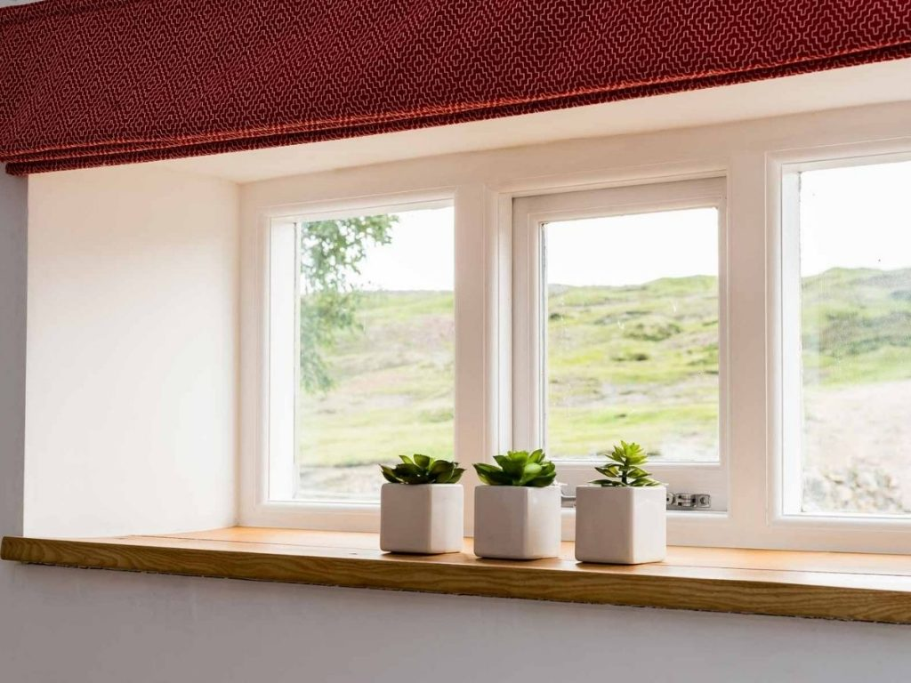 Window in tiny cottage