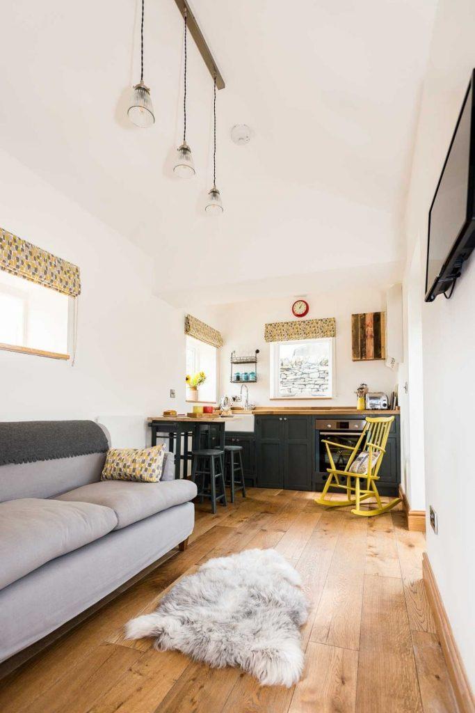 Tiny living room