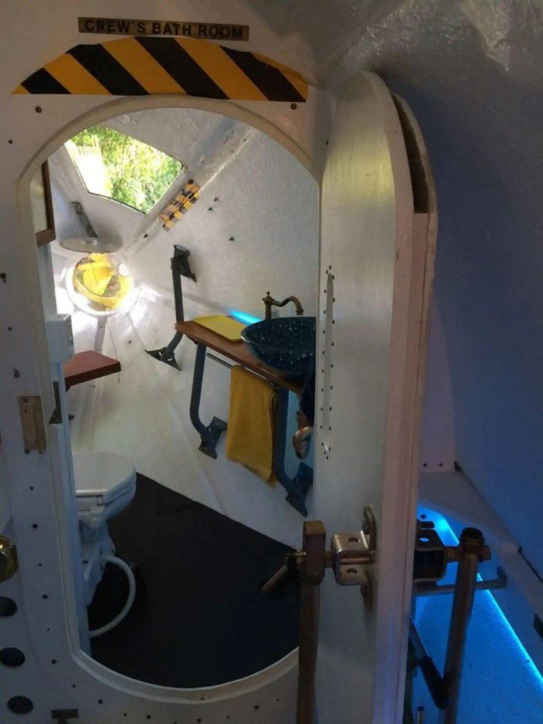 Yellow submarine open door
