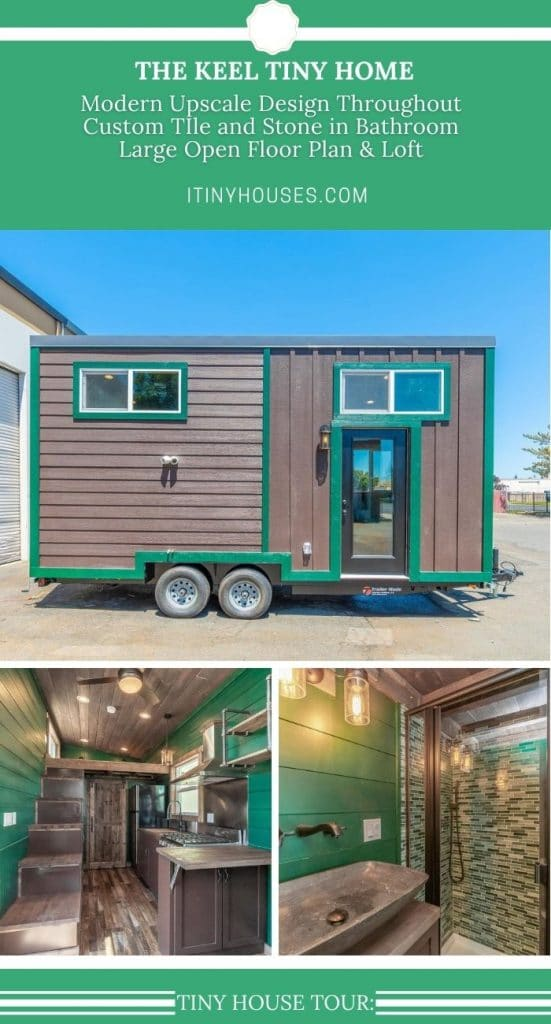 The keel tiny house collage