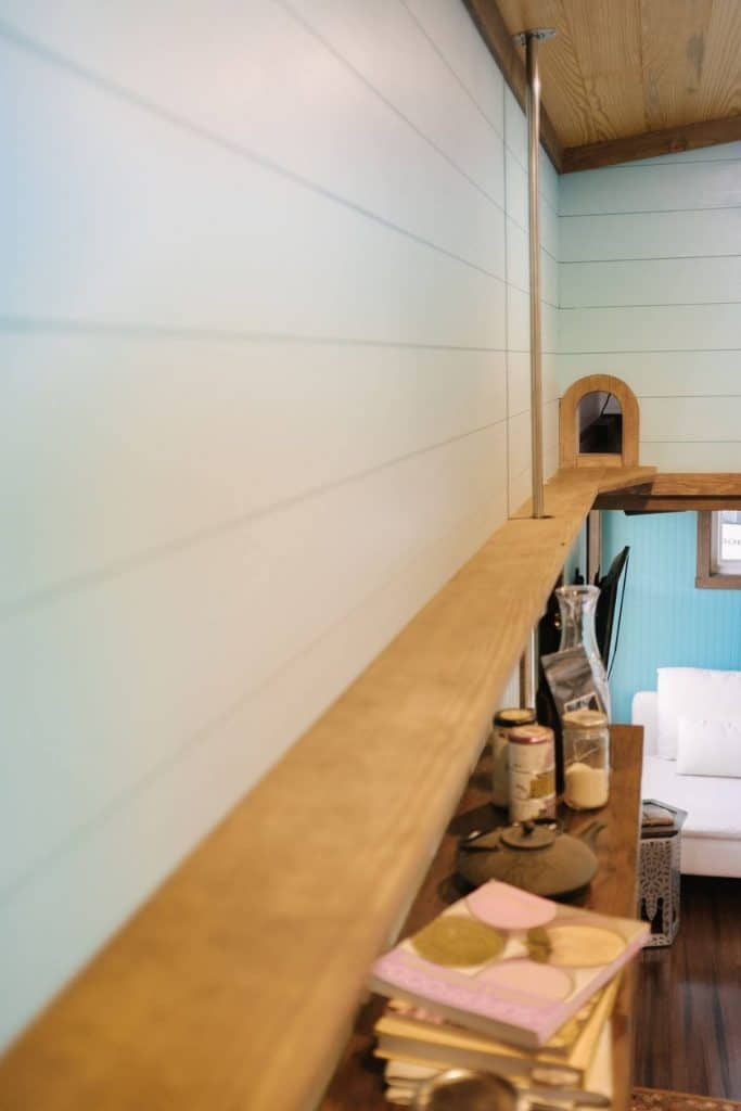 Cat walkway above kitchen